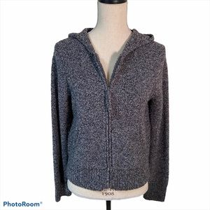 Eileen Fisher Women's Hooded Sweater Gray Small